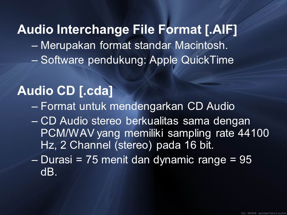 Audio Interchange File Format [.AIF]